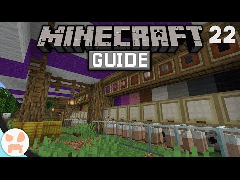 FINISHED AUTO WOOL FARM! | The Minecraft Guide - Minecraft 1.14.2 Lets Play Episode 22