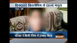 Caught on Camera: 8-year-old boy kidnapped in UP