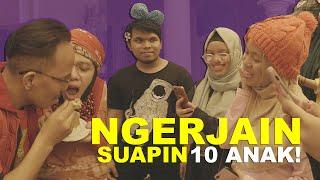 Video Prank Suapin 10 Anak Birthday 50 Pak Halilintar MP3, 3GP, MP4, WEBM, AVI, FLV September 2019