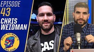 'I'm a nightmare matchup' for Israel Adesanya - Chris Weidman   Ariel Helwani's MMA Show