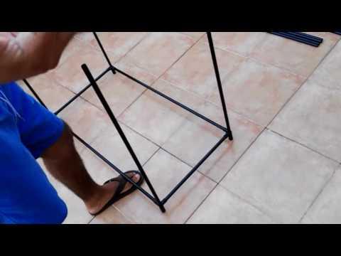 Como montar un armario de tela tutorial