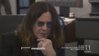 Ozzy Osbourne Listening To Isolated Crazy Train Guitar Solo 2016