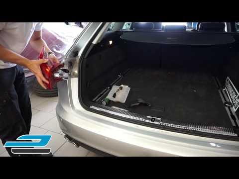 Blinkers Audi A6 4G Avant semi-dynamisk (installation)