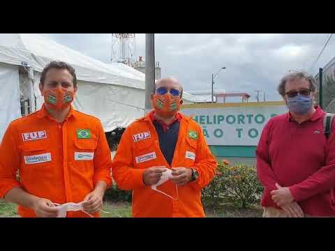 Justiça realiza perícia nas máscaras oferecidas pela Petrobrás