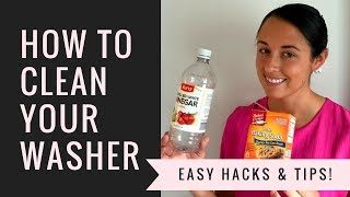HOW TO CLEAN YOUR WASHING MACHINE | Quick & Easy Cleaning
