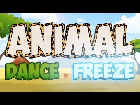 Animal Dance and Freeze | Fun Movement Brain Break | Jack Hartmann
