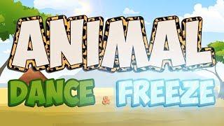 Animal Dance and Freeze | Fun Movement Brain Break | Jack Hartmann