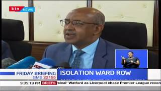 Did Gov\'t lie about existence of Coronavirus isolation ward?