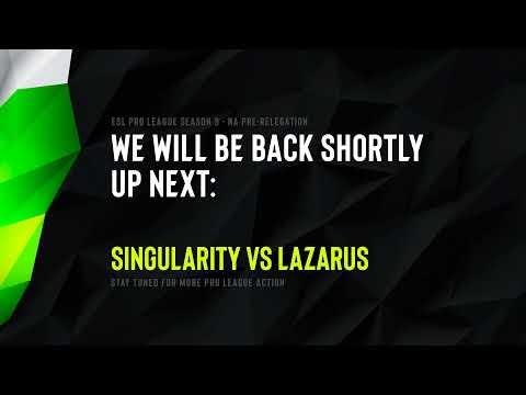 LIVE: NA Pro League Relegation S9 - Day 2 - Lazarus vs Singularity