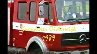 Brand Burgemeester Verwielstraat Oisterwijk 1989