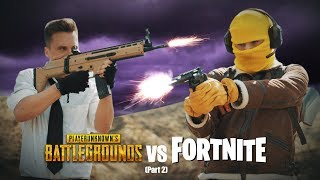 Fortnite vs PUBG 2