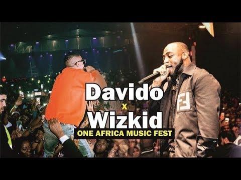 DAVIDO x WIZKID ONE AFRICA MUSIC FEST DUBAI