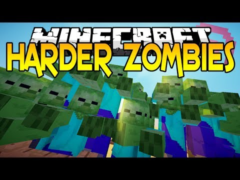 Minecraft Mods - The Harder Zombies Mod