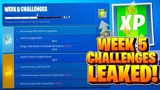 season 5 week 5 challenges