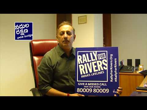 M Kiran, MD, Gemini for Rally for Rivers