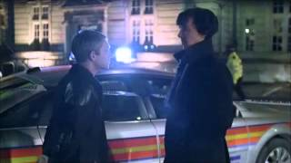Sherlock  Stop It! We Shouldnt Giggle At A Crime Scene