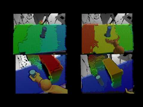 Simultaneous Object and Arm Tracking for Robot Manipulation