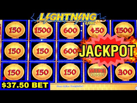 High Limit LIGHTING LINK Slot Machine HANDPAY JACKPOT | High Limit COYOTE MOON | High Limit KONAMI