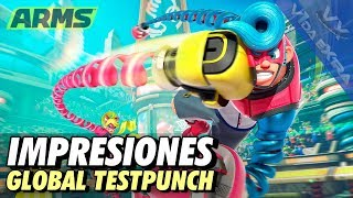 ARMS Global Testpunch - Analizamos la nueva apuesta de Nintendo Switch