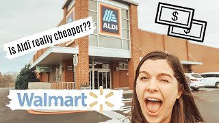 SAVING MONEY ON GROCERIES: ALDI vs. WALMART: ALDI GROCERY HAUL