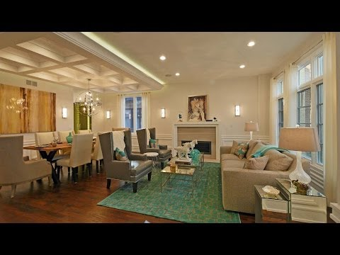 Luxury new construction on an extra-wide Bucktown lot