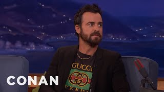 Justin Theroux Can't Stand Men In Shorts & Flip Flops | CONAN on TBS
