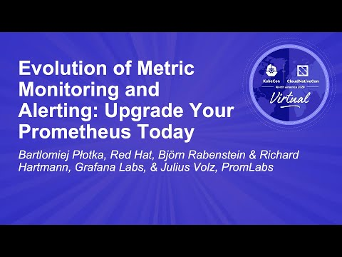 Image thumbnail for talk Evolution of Metric Monitoring and Alerting: Upgrade Your Prometheus Today