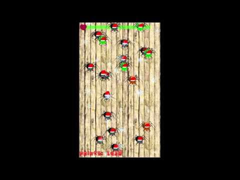 Video of Santa Spider Smash