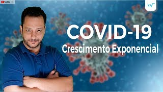 COVID-19 e seu Crescimento Exponencial (Brasil) | Waldemática