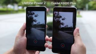 Ulefone Power 2 Vs. Oukitel K6000 Plus