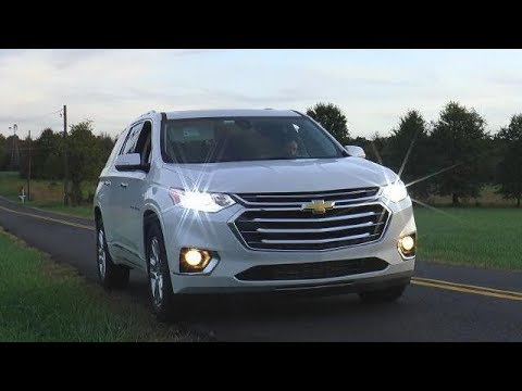 2018 Chevrolet Traverse Test Drive Video