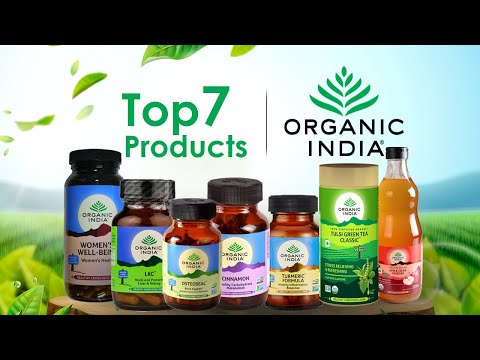 Top Products from Organic India For Good Health | Healthfolks.com