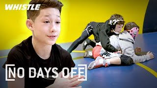 10-Year-Old FIGHTING Beast! | Wrestling & Jiu Jitsu Prodigy