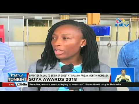 Sprinter Ta Lou to be the chief guest at Soya awards gala