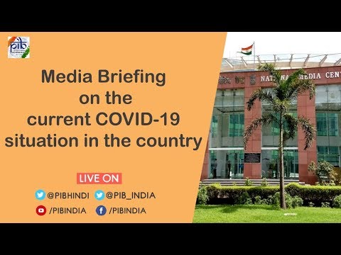 Press Briefing on the actions taken, preparedness and updates on COVID-19, Dated: 28.03.2020