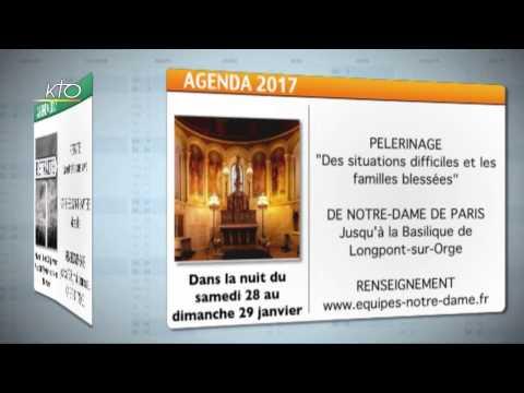 Agenda du 6 janvier 2017