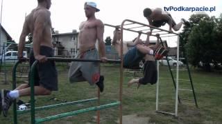 Sanoccy gladiatorzy w akcji. Poznaj grupę Street Workout Sanok! (FILM)