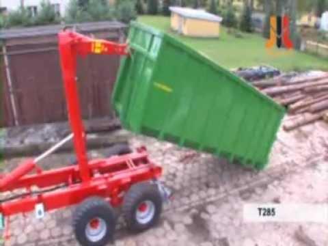 Pronar Containeranhänger, T 185; 15 to,  NEU, ab Lager