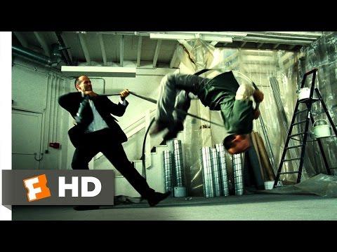Transporter 2 (5/5) Movie CLIP - Fire-Hose Fray (2005) HD