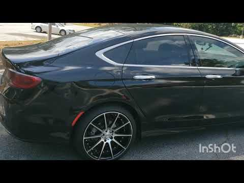 Chrysler 200 MoDs. 20inch rims and more