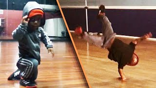 7-Year-Old Shows Off Amazing Breakdancing Moves
