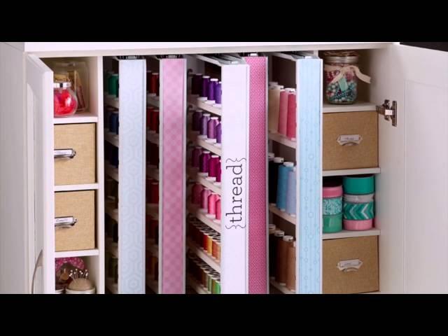 Inspira Studio By Closetmaid Thread Cabinet