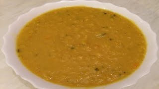How To Make Lebanese Red Lentil Soup - وصفات رمضانية - طريقة تحضير شوربة العدس الاصفر اللبنانية