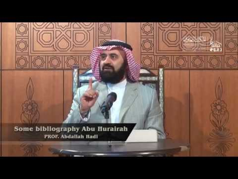Some bibliography Abu Hurairah