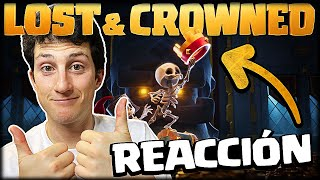 EL PRIMER CORTO DE CLASH ROYALE, REACCIONANDO A *LOST & CROWNED* - WithZack