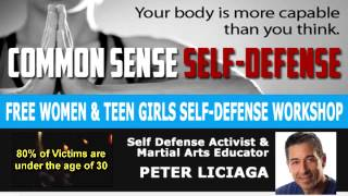 preview picture of video 'Self Defense PSA | Workshop for Women and Teen Girls | Mount Laurel NJ'