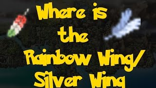 Where Is: The Rainbow Wing/Silver Wing (Pokemon Heart Gold/Soul Silver)