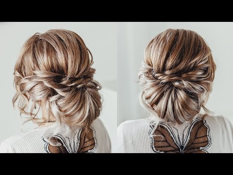 Loose Bun Hair Tutorial |  Chick Hairstyle for  hair extensions