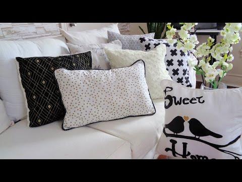 Como hacer fundas para cojines - Cojines decorativos