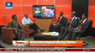 Oyebode, Moghalu Express Dismay Over The Unsavoury State Of Politics Pt.2 |Sunrise Daily|